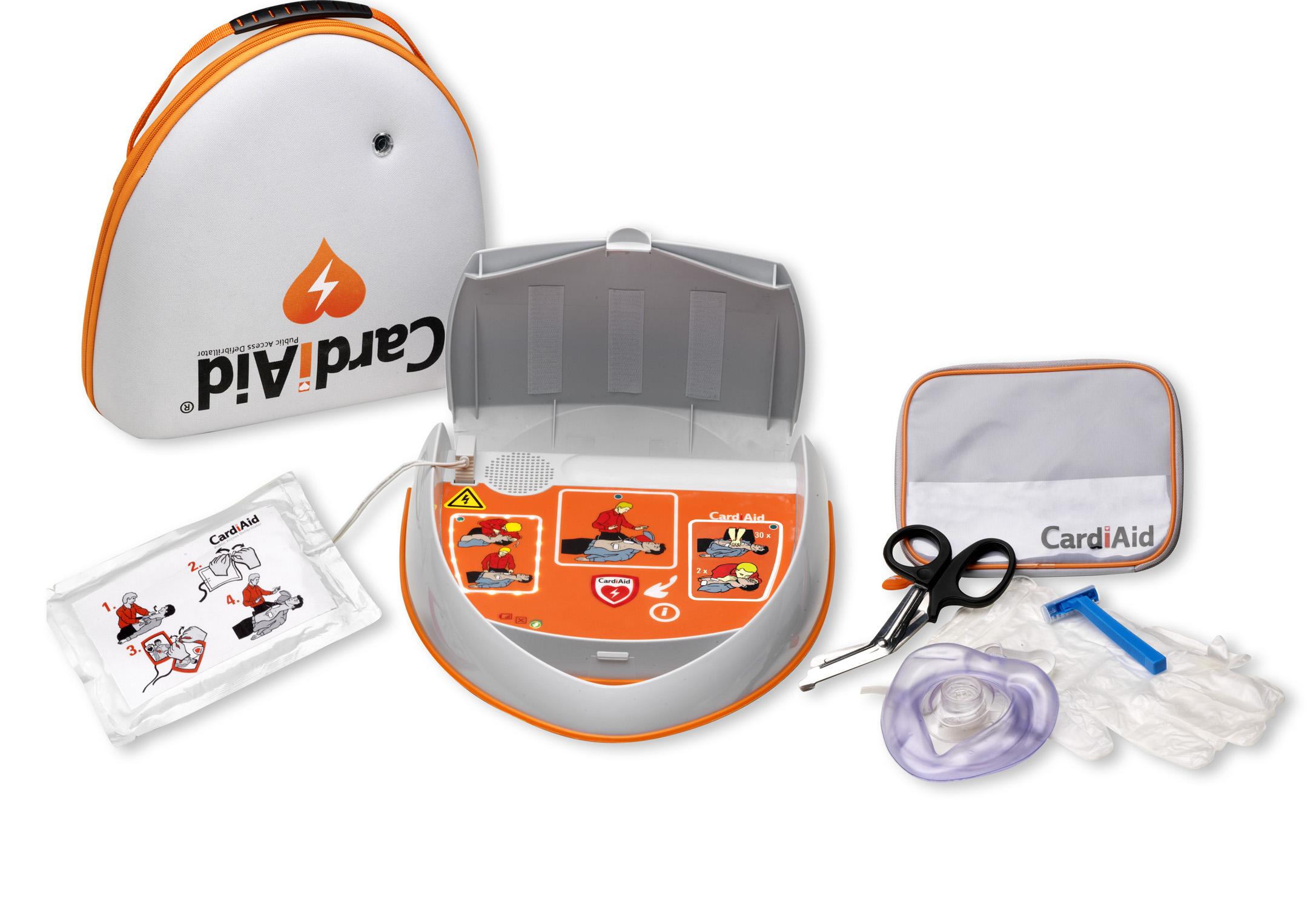 Cardiaid AED - Cardiaid tas - Cardiaid reanimatie-kit