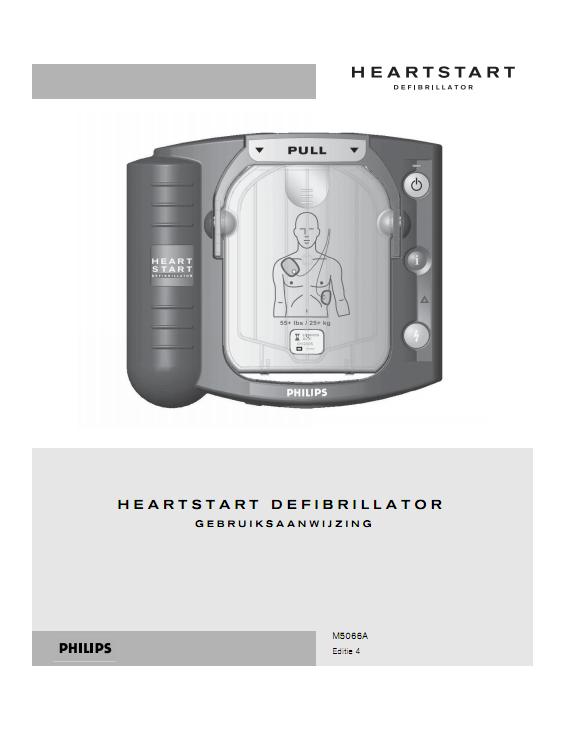 Handleiding Philips HeartStart HS1 AED