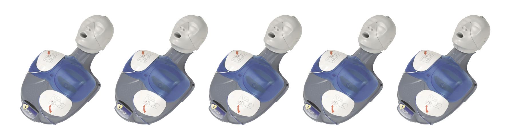 ACTAR D-FIB reanimatiepoppen (5 stuks)