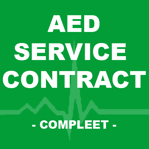 Medtronic Lifepak Express AED service contract compleet
