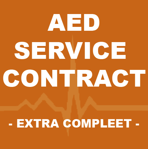 Cardiac Sciience Powerheart G3 PLUS AED service contract extra compleet