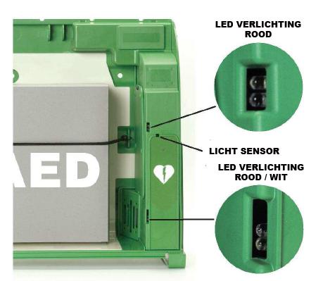 AIVIA 100 LED-verlichting & sensor