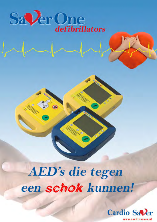 Brochure Cardio Saver ONE AED