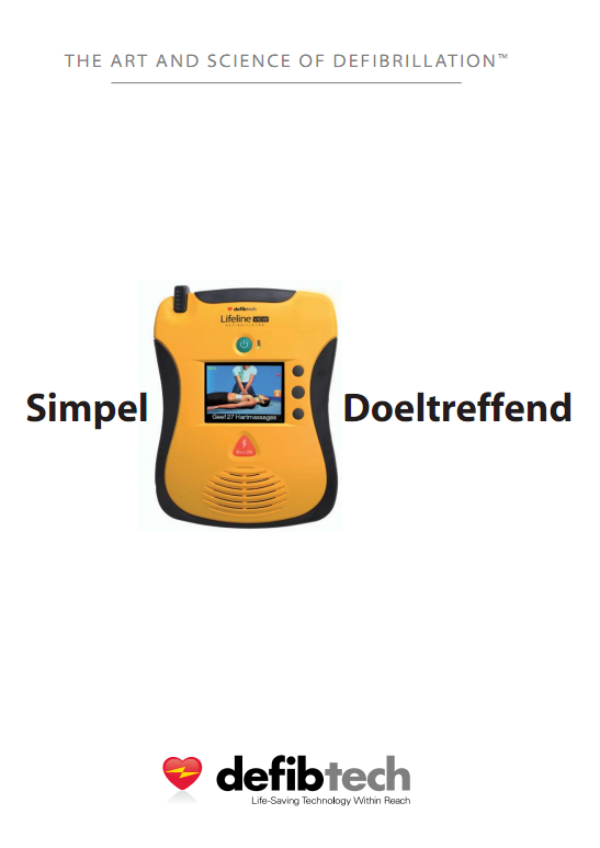 Brochure Defibtech Lifeline VIEW AED