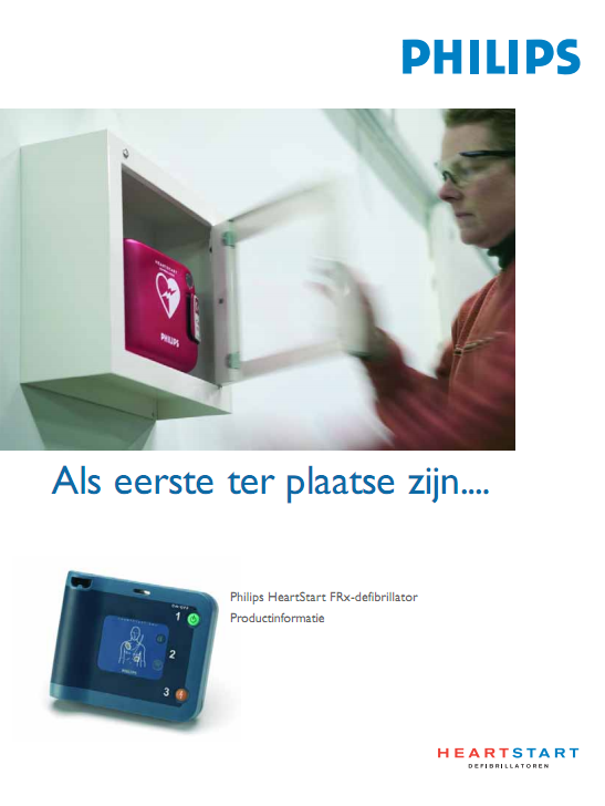 Folder Philips HeartStart FRx AED
