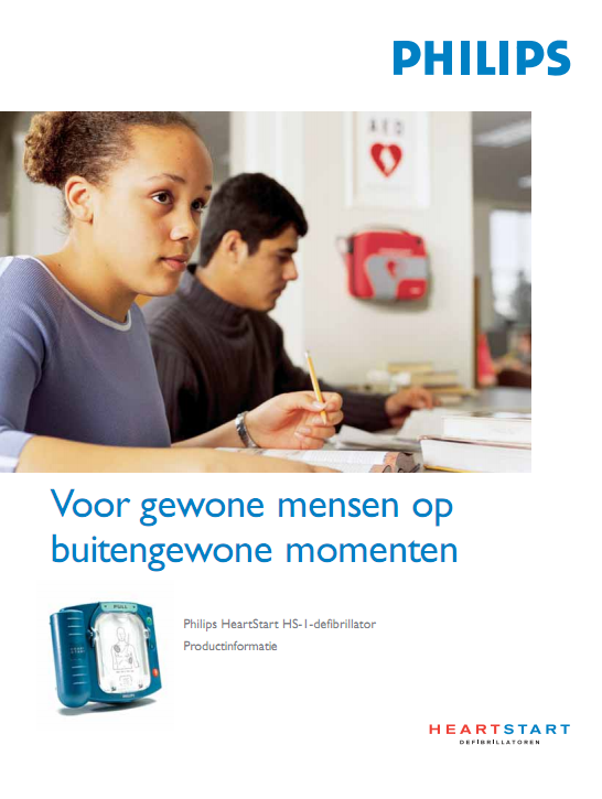 Brochure Philips HeartStart HS1 AED
