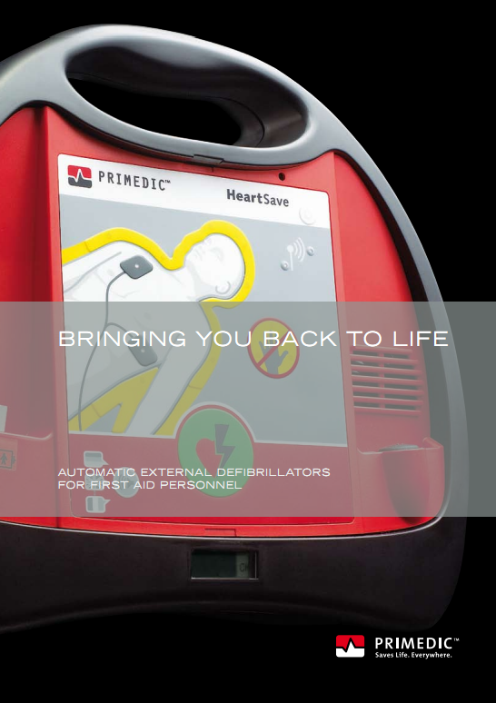 Folder Primedic HeartSave AED