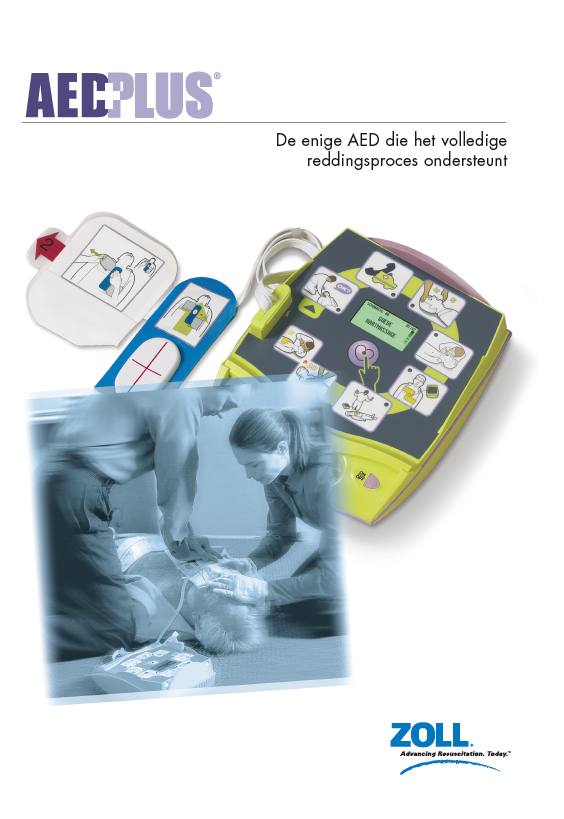 Folder ZOLL AED PLUS