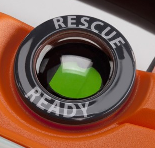 Cardiac Science Powerheart G5 Rescue Ready indicator