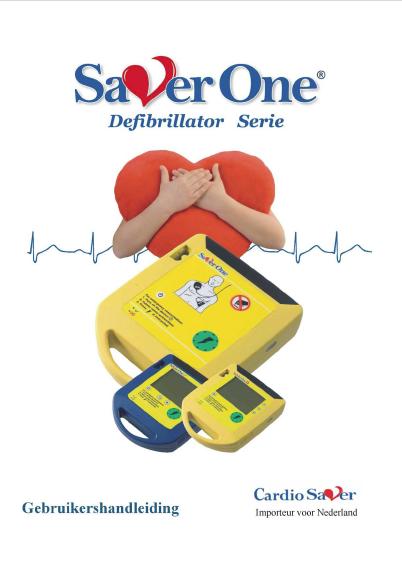 Handleiding Cardio Saver One AED
