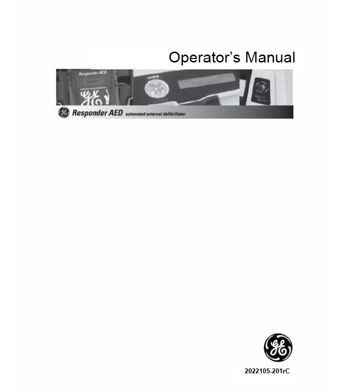 Handleiding GE Responder AED