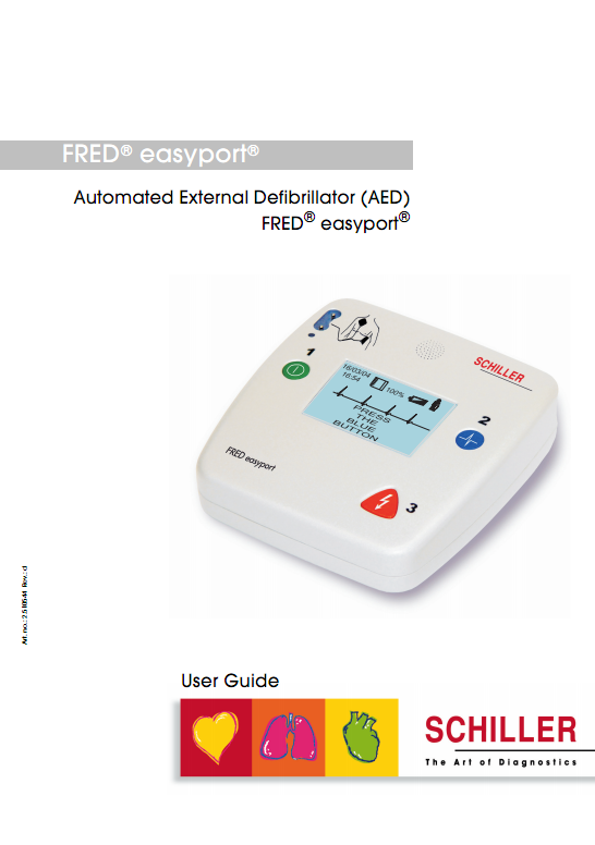 Handleiding Schiller Fred Easyport AED