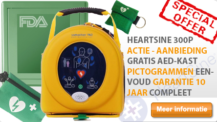 HeartSine Samaritan PAD 300p AED ACTIE