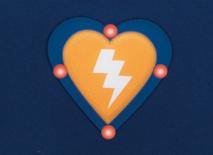 HeartSine Samaritan PAD 300P SCHOK-knop