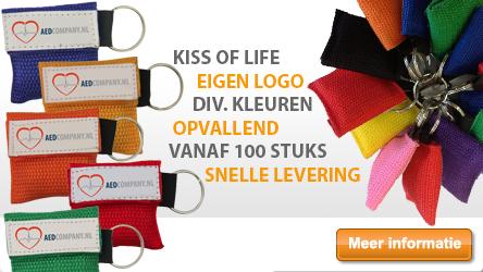 Kiss of Life met bedrijfslogo (Lifekey)