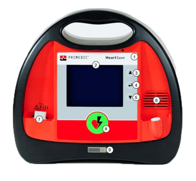 Primedic HeartSave AED-M beschrijving