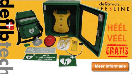 Defibtech Lifeline AED aanbieding (heel veel GRATIS)