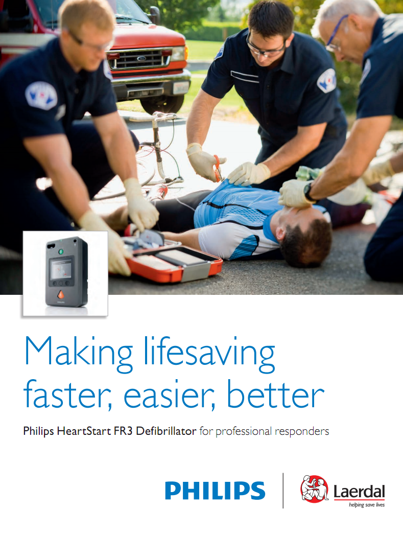 Brochure Philips HeartStart FR3 AED