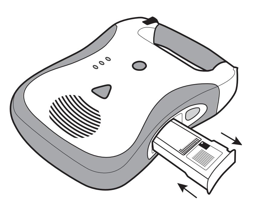 Vervangen Defibtech Lifeline batterij type DCF-210