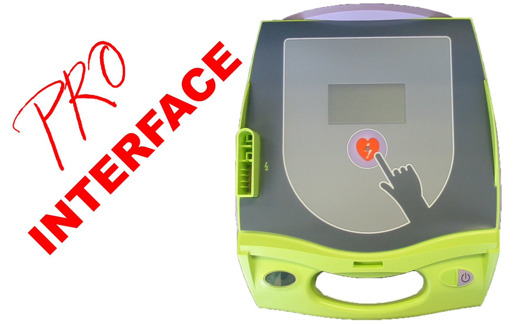 ZOLL AED PLUS professional interface