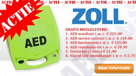 ZOLL AED PLUS ACTIE AANBIEDING