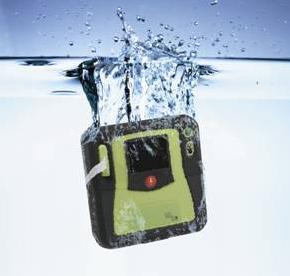 ZOLL AED PRO spuitwaterdicht IP55