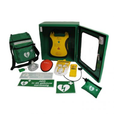 Defibtech Lifeline AED + AED kast