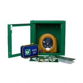 Heartsine Samaritan PAD 350P AED aanbieding met gratis AEDkast indoor