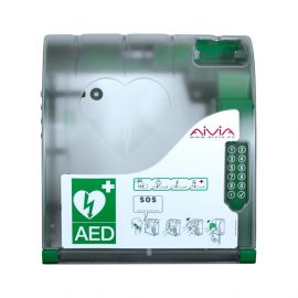 AIVIA 210 AEDKAST VOORKANT MET VERWARMING, PINCODE, ALARM & VERLICHTING
