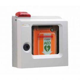 Cardiac Science AED wandkast met akoestisch alarm en stroboscoop