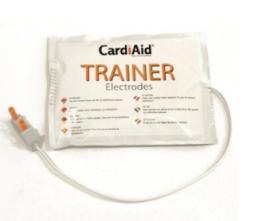 Cardiaid trainer elektroden