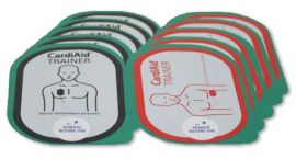 Cardiaid trainer elektroden vervangingsset van 5 stuks
