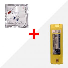 Combideal Cardiac Science Powerheart G3 AED batterij & elektroden