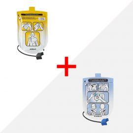 Defibtech Lifeline combinatiepakket: volwassen-elektroden & kinder-elektroden