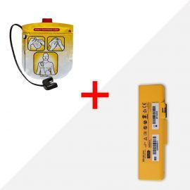 Combideal Defibtech Lifeline VIEW batterij dbp-2003 & elektroden ddp-2001