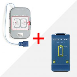 Combideal Philips HeartStart FRx AED batterij & elektroden