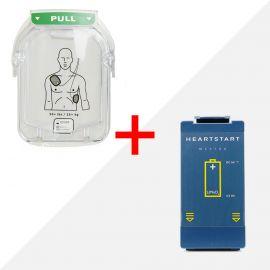 combideal Philips HeartStart HS1 accu M5070A batterij M5071A