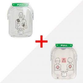 Combideal Philips HeartStart HS1 elektroden volwassen M5071A & kind M5072A