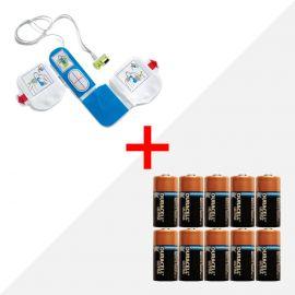 Combideal ZOLL AED PLUS accu en elektroden