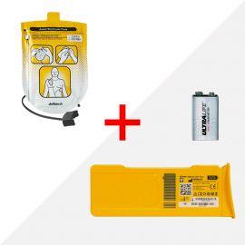 Combideal Defibtech Lifeline AED elektroden (ddp-100) & batterij (dbp-2800)