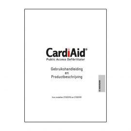 Handleiding CardiAid CT0207RS & CT0207RF AED manual gebruiksaanwijzing