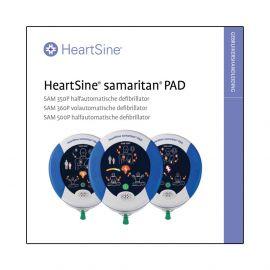 Handleiding HeartSine Samaritan PAD 500P AED manual
