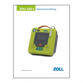Handleiding ZOLL AED 3 8501-001201-16