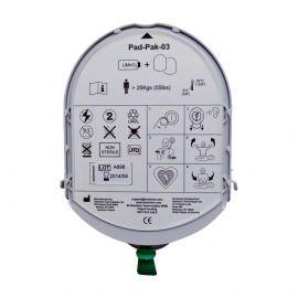 HeartSine Samaritan 2-in-1 batterij & elektroden REF PAD-PAK-03