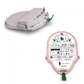 HeartSine Samaritan Pad-Pak combinatiepakket (kinder-elektroden en volwassen-elektroden)