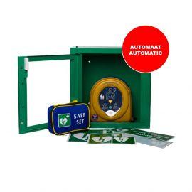 Heartsine Samaritan PAD 360P AED vol-automaat aanbieding met gratis AEDkast indoor
