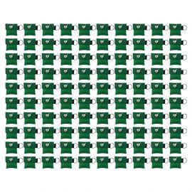 kiss of life sleutelhanger beademingsmasker ilcor aed logo groen 100 stuks