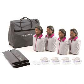 Laerdal Little Anne QCPR 4-pack 124-03050 donker