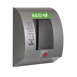 Sixcase SC1430P POLAR zijaanzicht aed buitenkast outdoor verwarming alarm verlichting -25°C RVS
