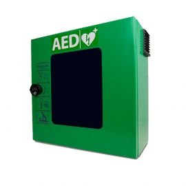 SmartCase SC1240 AED buitenkast verwarmd, pincode, alarm, verlichting & ventilator RVS Sixcase